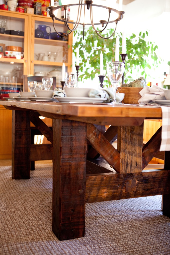 Barn Wood Table Dining Room