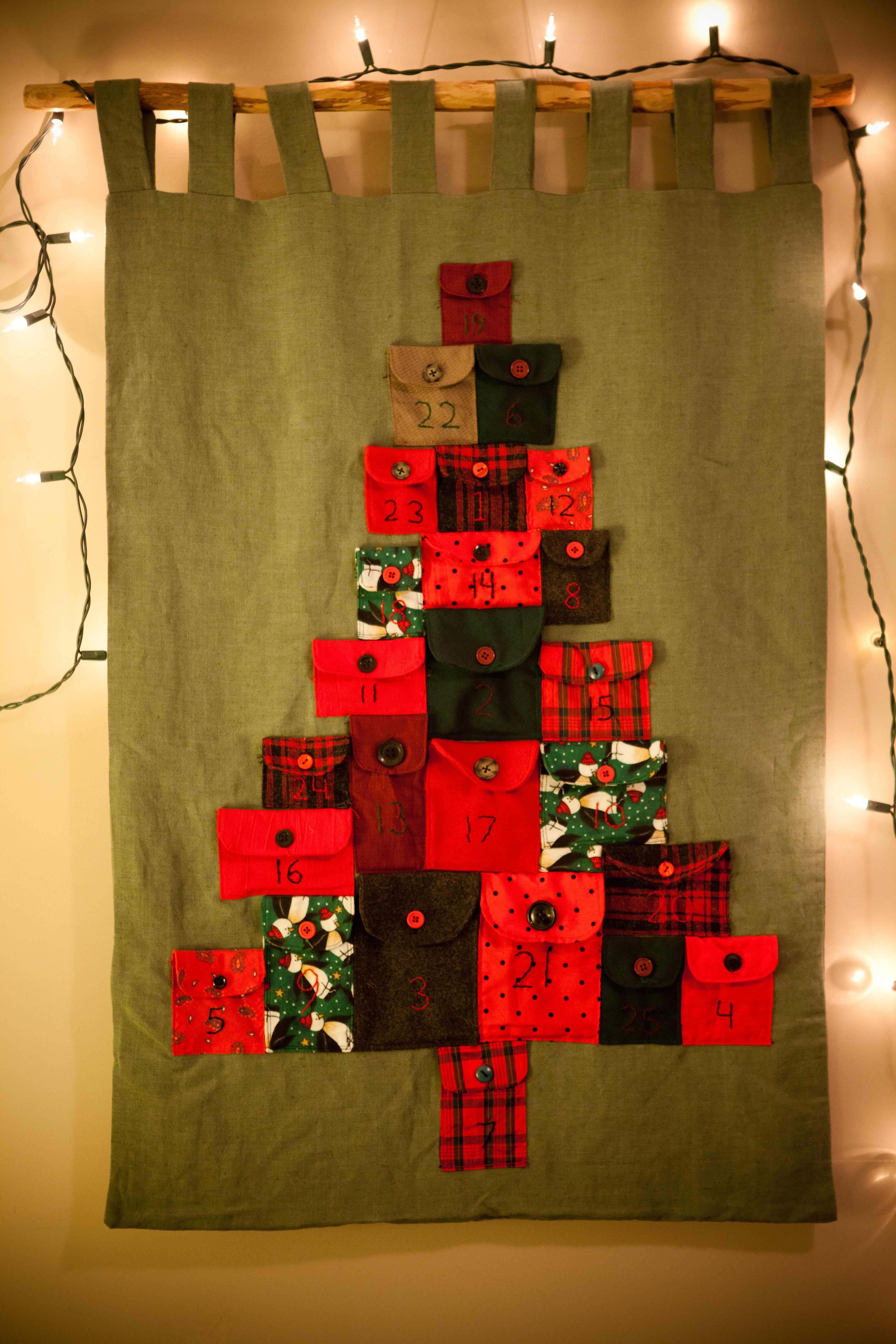 Advent Calendar House Diy : Advent calendar diy the secret life of daydreams