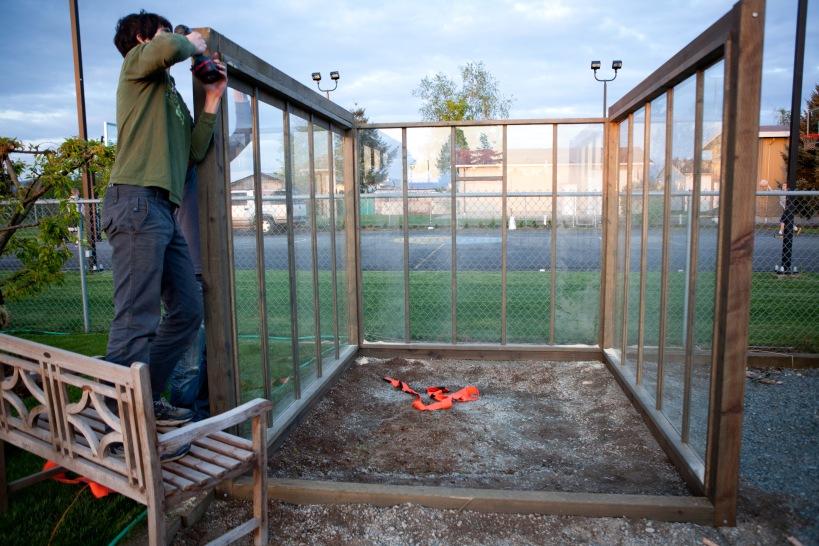 greenhouse walls