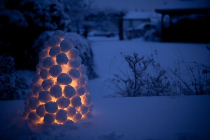 snowball lantern